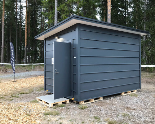 Telecommucation shelter - cRoom